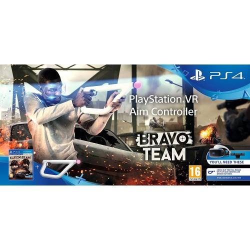 Aim Controller VR контроллер прицеливания + игра Bravo Team (только для VR) ( PS4 )