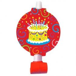 Дудочки-язычки Торт на красном