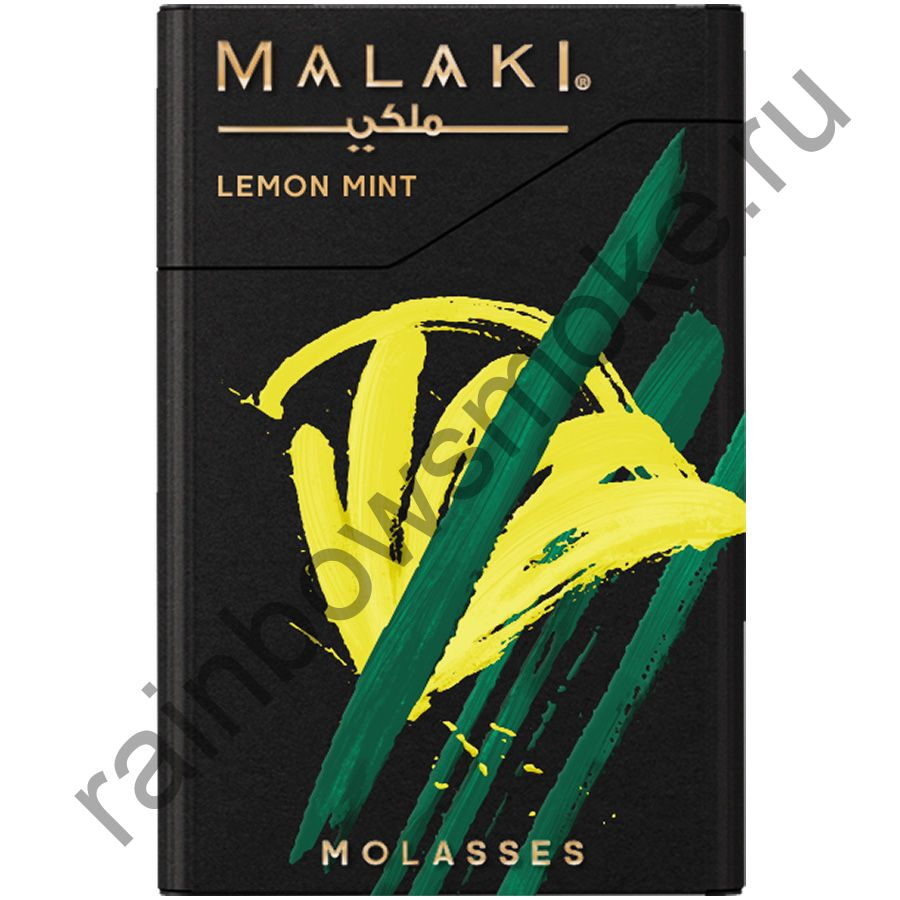 Malaki 50 гр - Lemon Mint (Лимон и Мята)