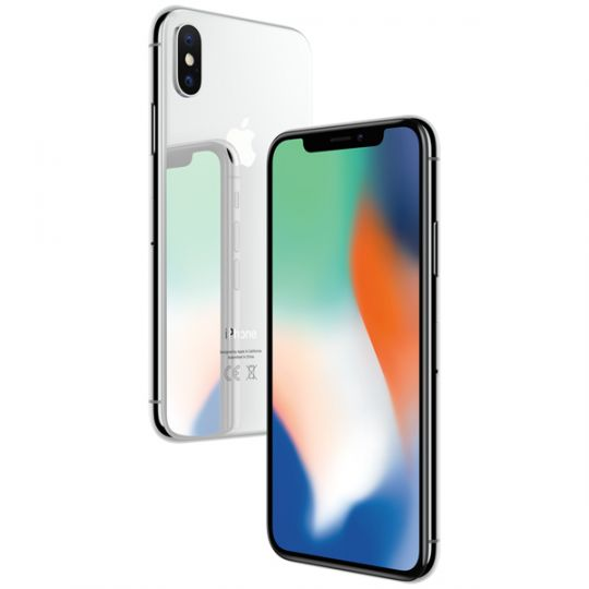 Смартфон Apple iPhone X 64GB Silver A1901 (Серебристый)