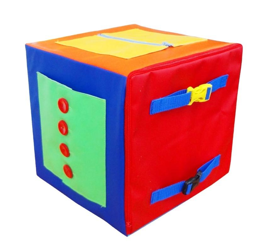 Дидактический мягкий кубик