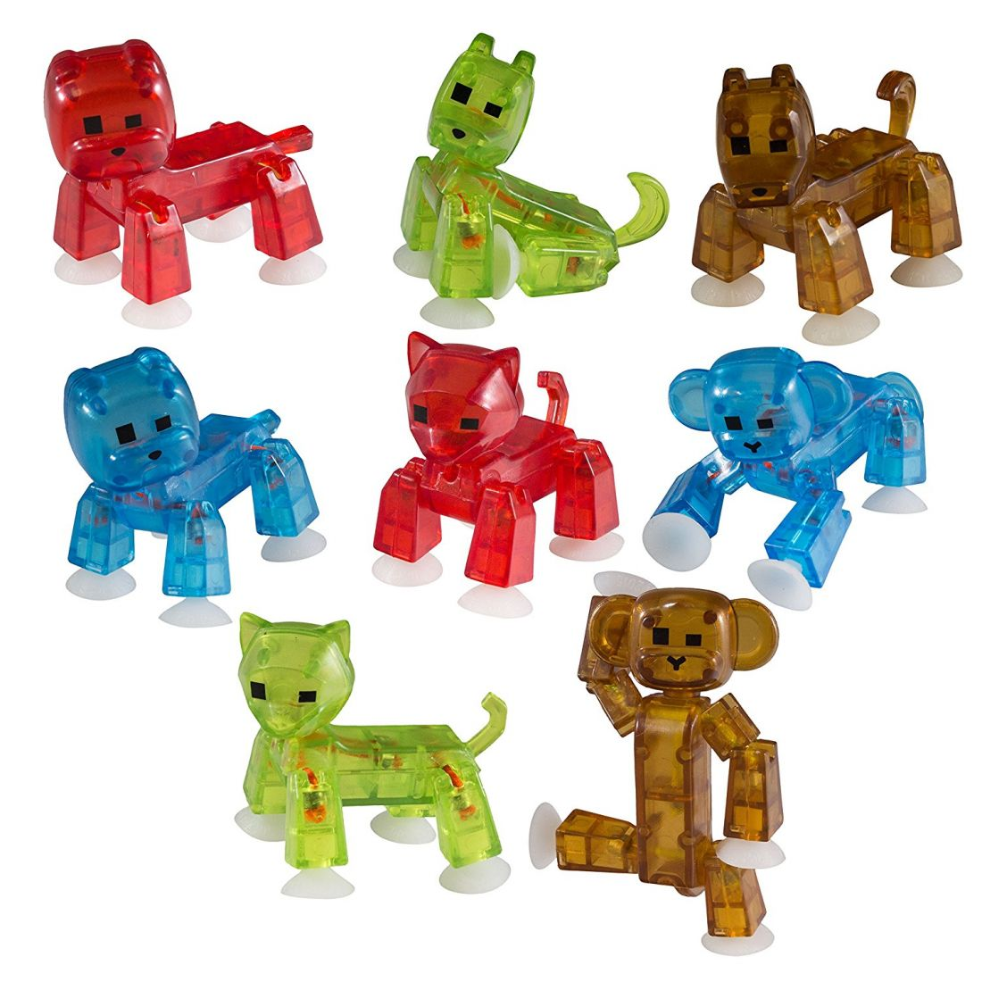 Мега набор Стикбот животные Stikbot Pets