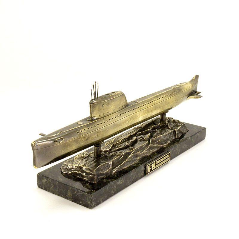 Масштабная копия подводной лодки К-19(1:350)