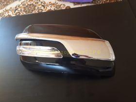 Хромированные накладки на зеркала (Тип 5) для Toyota Land Cruiser Prado 150