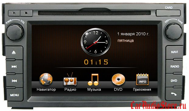 INTRO CHR 1810CD  KIA Ceed 2010-11, Venga (IE)