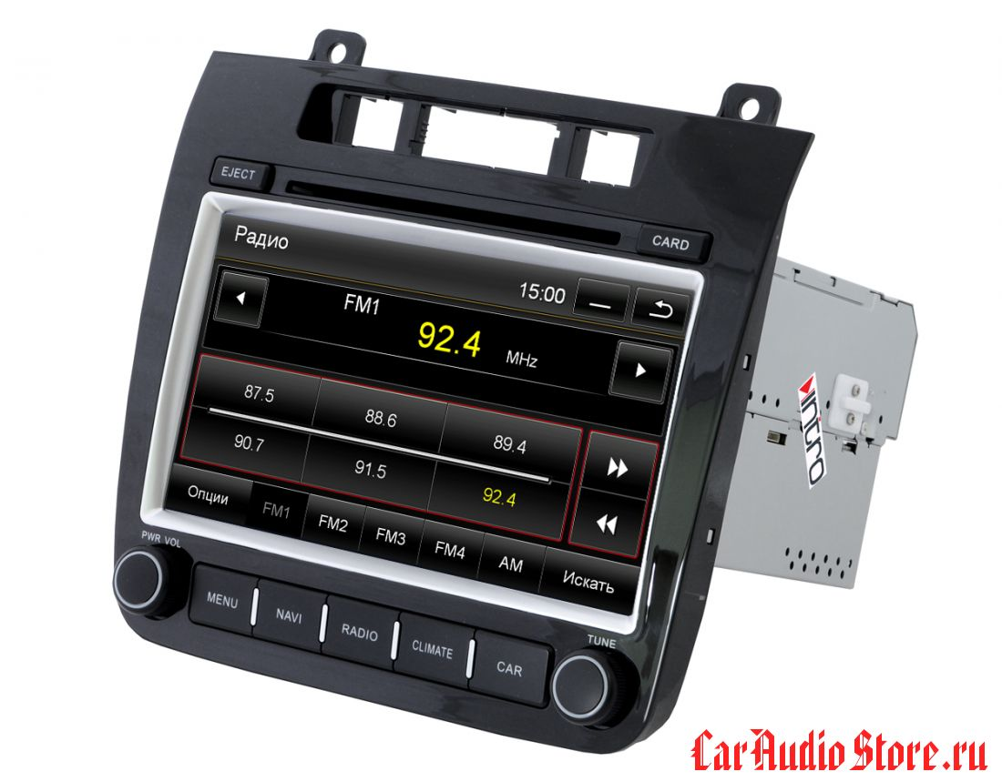 INTRO CHR-8692 VW Touareg 2011+ (IE) I-10 (Incar CHR-8692TG)