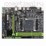 Мат.плата FM2 (чипсет A55M, mATX, 2 слота DDR3) — Maxsun