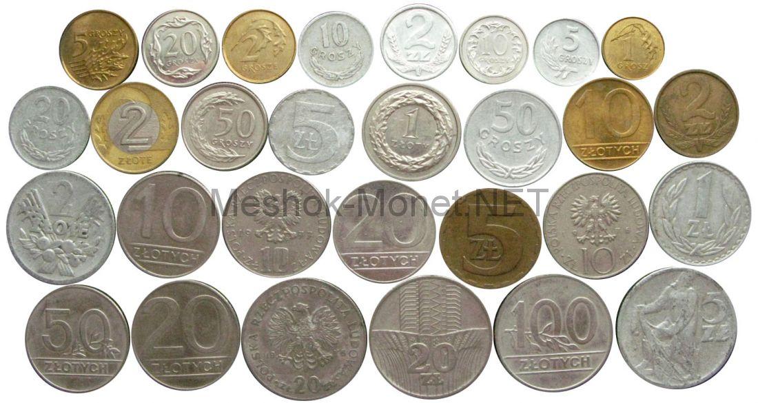 Набор монет Польши (29 монет)