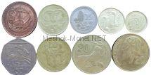 Набор монет Кипра (9 монет)
