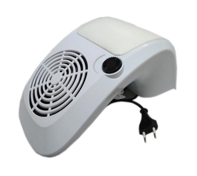 Пылесос-подставка для маникюра мощный 60Вт (белый)
