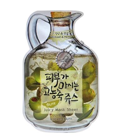 "BAVIPHAT - Тканевая маска ""Olive"" Juicy Mask Sheet"