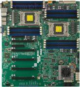 Материнская плата Dual-Lga2011 (чипсет C602J, eATX, 16 слотов DDR3, поддержка ECC) — Supermicro X9DRG-QF