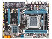 Материнская плата Lga2011 (чипсет X79, ATX, USB2.0/3.0, 4 слота DDR3, ECC+, PCI-E x16 *2, PCI-E x1 *3) - X79 E5 Ver. 3.2G