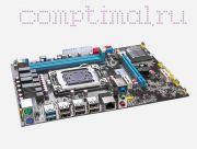Материнская плата Lga2011 (чипсет X79, MicroATX, USB2.0/3.0, 2 слота DDR3, ECC+, PCI-E x16 *1, PCI-E x1 *2) - Huanan X79-M