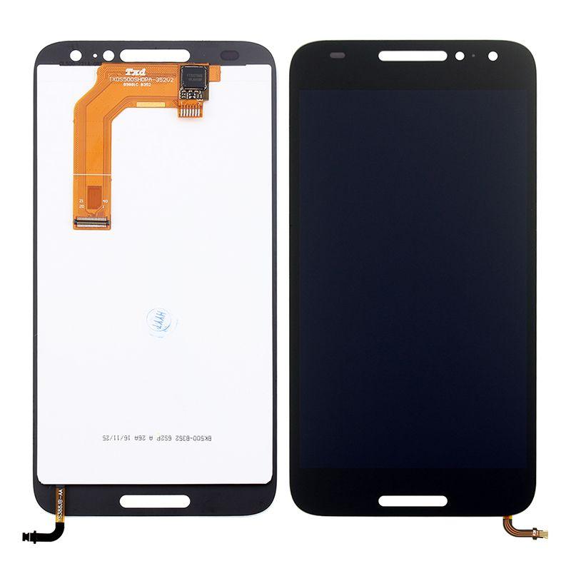 LCD (Дисплей) Alcatel 5046D A3 (в сборе с тачскрином) (black) Оригинал