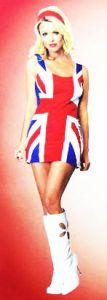 Платье Британский Флаг