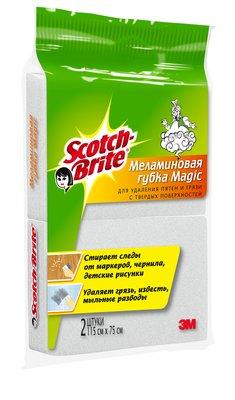Губка меламиновая MAGIC 3М Scotch-Brite (Скотч Брайт) 2 шт