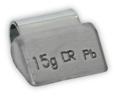 Грузик балансировочный для литых дисков 15 г (100 шт.)