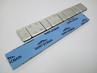 Грузик самоклеящийся стальной оцинкованный на ленте SAINT GOBAIN (4х5 г + 4х10 г, 50 шт.)