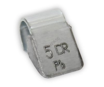 Грузик балансировочный для стальных дисков 5 г (100 шт.)