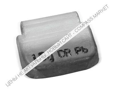 Грузик балансировочный для стальных дисков 15 г (100 шт.)