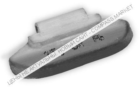 Грузик балансировочный для стальных дисков 25 г (100 шт.)
