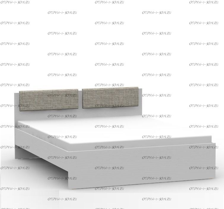 КроватьTeen`s Home (lite) 25.108.01/02/03/05 с мягкими элементами