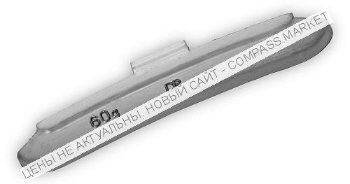 Грузик балансировочный для стальных дисков 60 г (40 шт.)