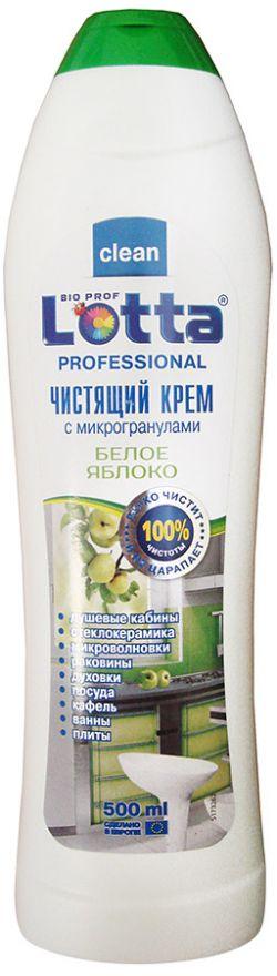 Средство чистящее крем Белое яблоко Lotta Professional (Лотта Профешнл) 500 мл