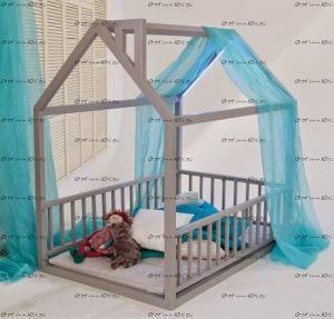 Кровать-домик №4 (2 размера)