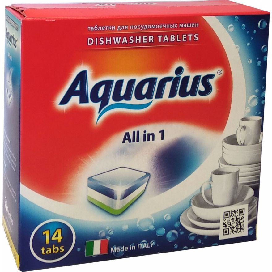Таблетки для ПММ  LOTTA Aquarius (Лотта Аквариус) 14 таб
