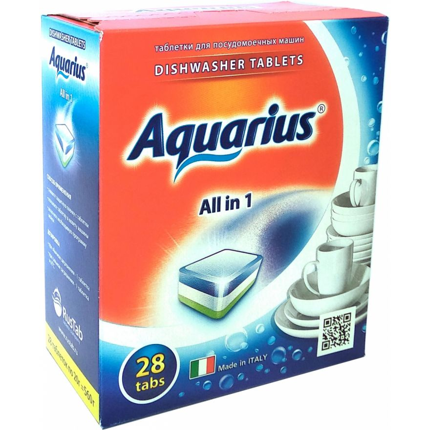 Таблетки для ПММ  LOTTA Aquarius (Лотта Аквариус) 28 таб