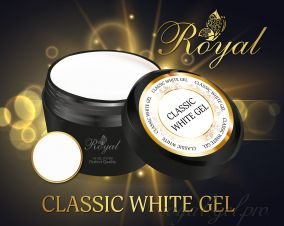 CLASSIC FRENCH WHITE  ROYAL GEL 250 гр