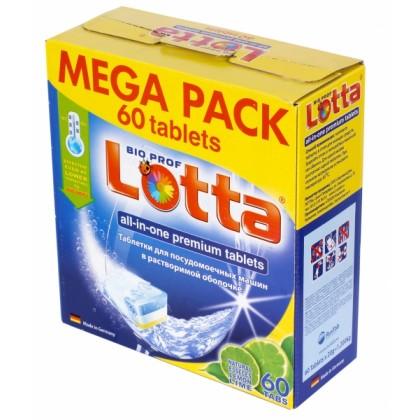 Таблетки для ПММ  7в1 LOTTA (Лотта Аквариус) 60 таб