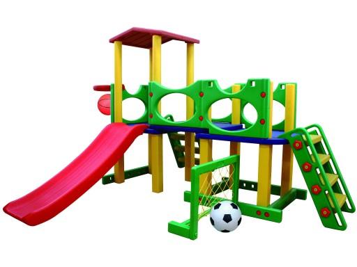 Детская площадка 5в1 башня, мост, корзина