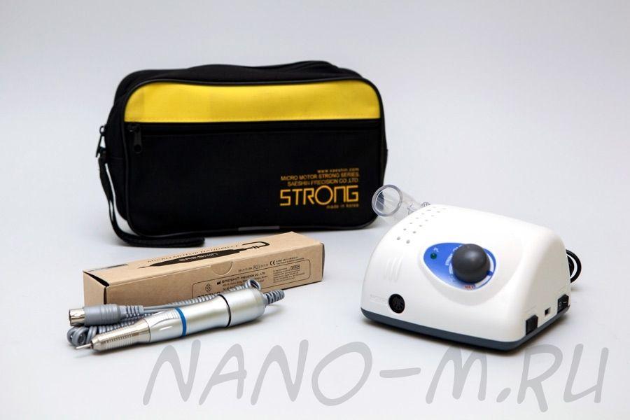 Strong 210/107II - Аппарат для маникюра без педали с сумкой