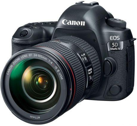 Зеркальный фотоаппарат Canon EOS 5D Mark IV Kit EF 24-105mm f/4L IS II USM