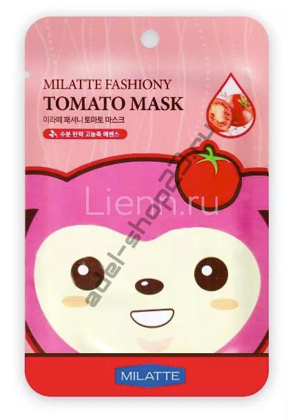 "MILATTE - Тканевая маска ""Tomato"" Fashiony Mask"