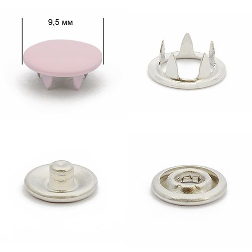 Кнопка трикотажная 9,5мм №133 (закрытая) нерж эмаль Упаковка-1440шт