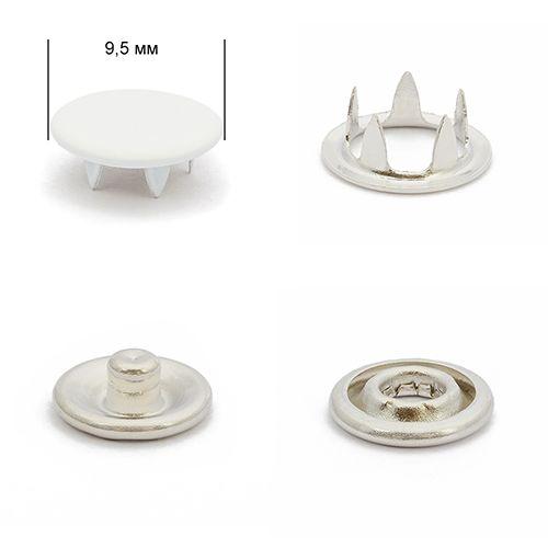 Кнопка трикотажная 9,5мм №101 (закрытая) нерж эмаль Упаковка-1440шт