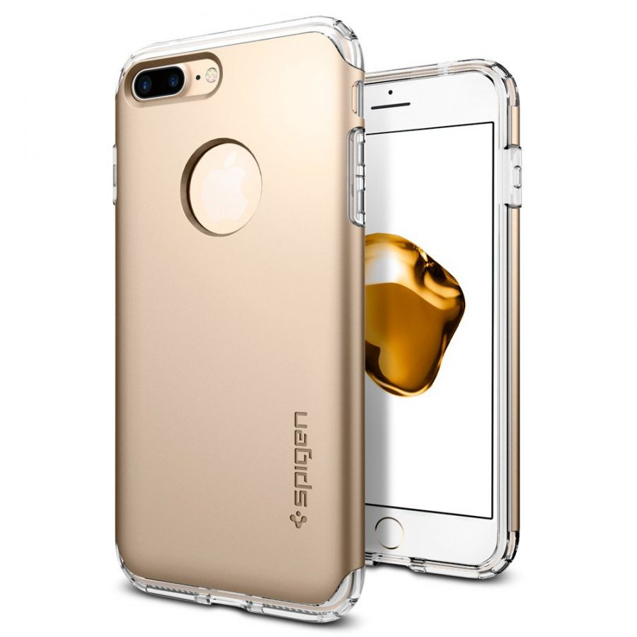 Чехол Spigen Hybrid Armor для iPhone 8 Plus золотой