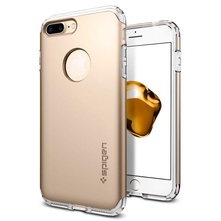 Чехол Spigen Hybrid Armor для iPhone 8 Plus золотой