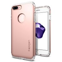 Чехол Spigen Hybrid Armor для iPhone 8 Plus розовое золото