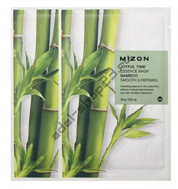 "MIZON  - Тканевая маска ""Bamboo"" Joyful Time Essence Mask"