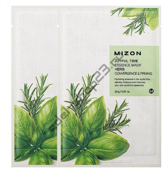 "MIZON  - Тканевая маска ""Herb"" Joyful Time Essence Mask"