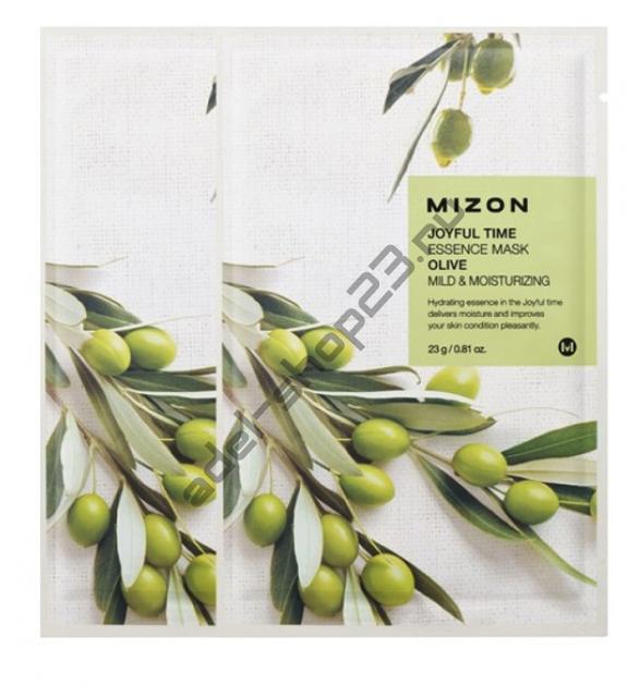 "MIZON  - Тканевая маска ""Olive"" Joyful Time Essence Mask"