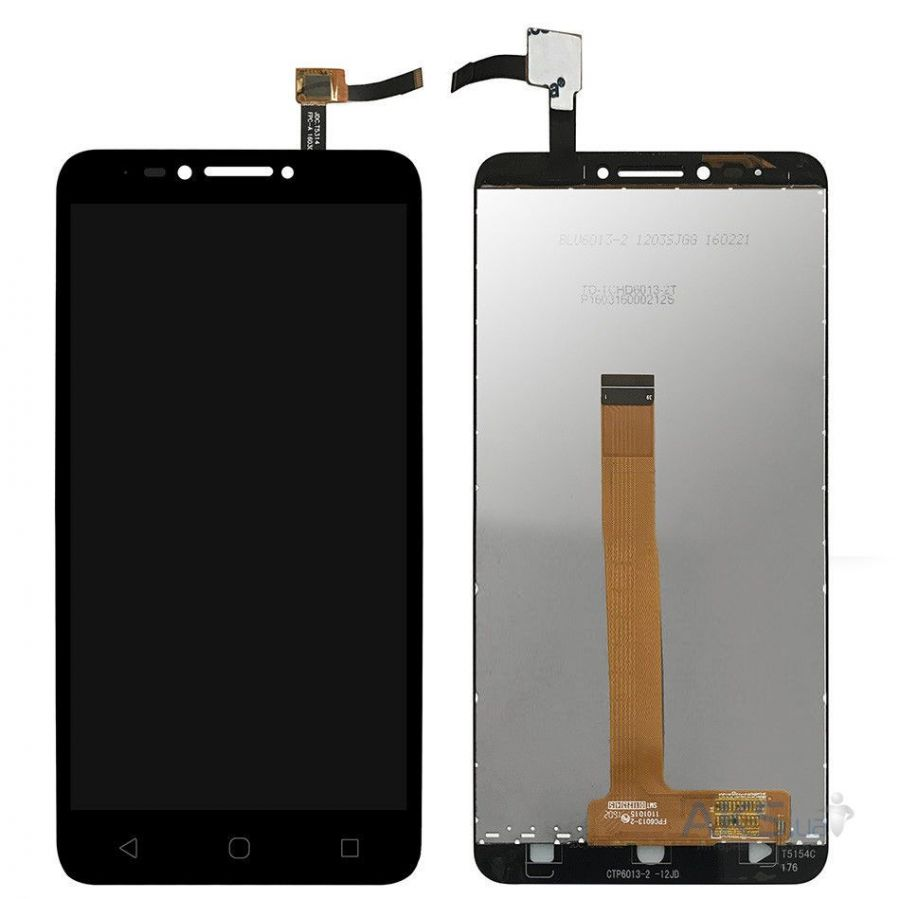LCD (Дисплей) Alcatel 9001D Pixi 4(6) (в сборе с тачскрином) (black) Оригинал