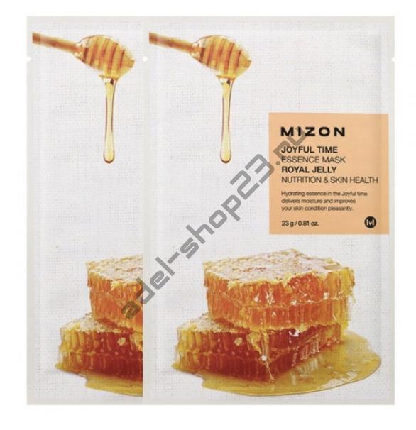 """MIZON  - Тканевая маска """"Royal Jelly"""" Joyful Time Essence Mask"""