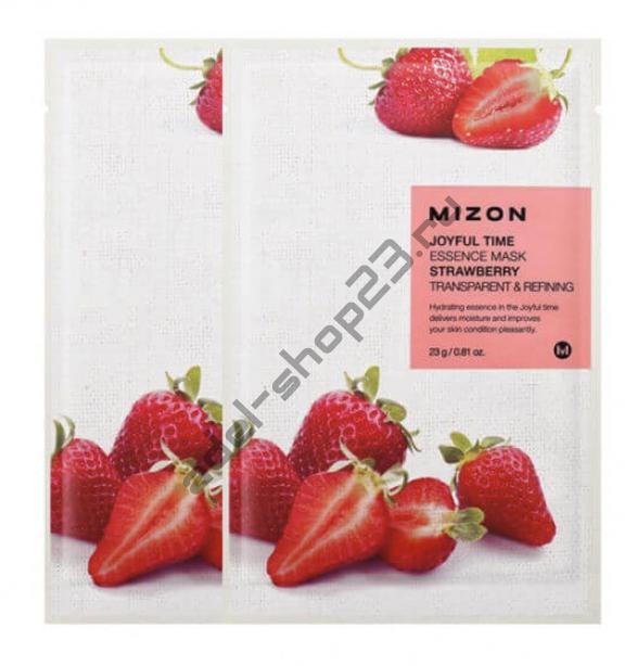 "MIZON  - Тканевая маска ""Strawberry"" Joyful Time Essence Mask"