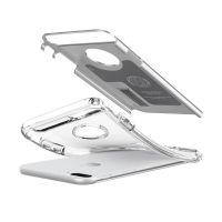 Чехол Spigen Slim Armor для iPhone 8 Plus серебристый